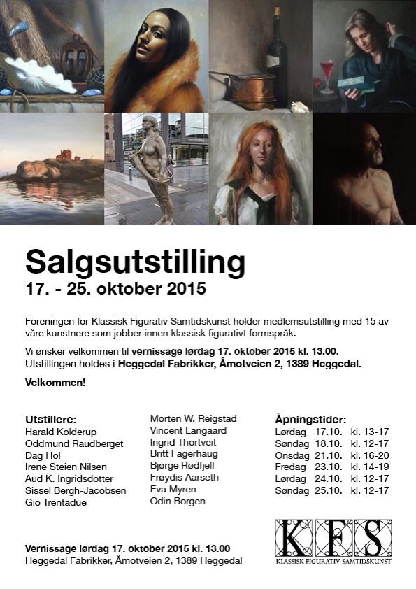 Salgsutstilling 17 - 25. oktober 2015