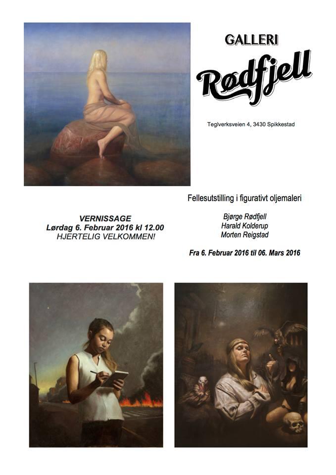 Utstilling Galleri Rødfjell